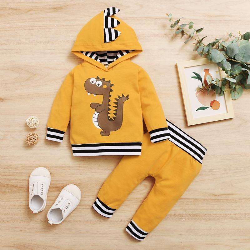 Dinosaur Hooded Set for Baby