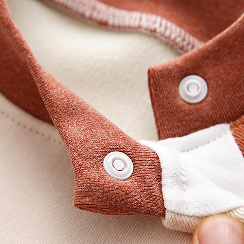 2-piece Fleece-lined Sweatshirt & Pants for Toddler Boy