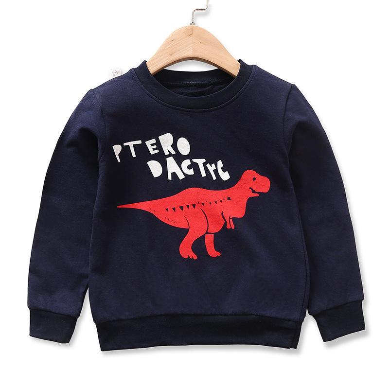 Elephant Pattern Sweatshirt for Toddler Boy
