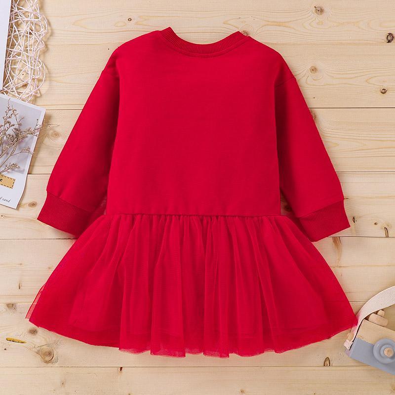 Pentagram Pattern Dress for Baby Girl