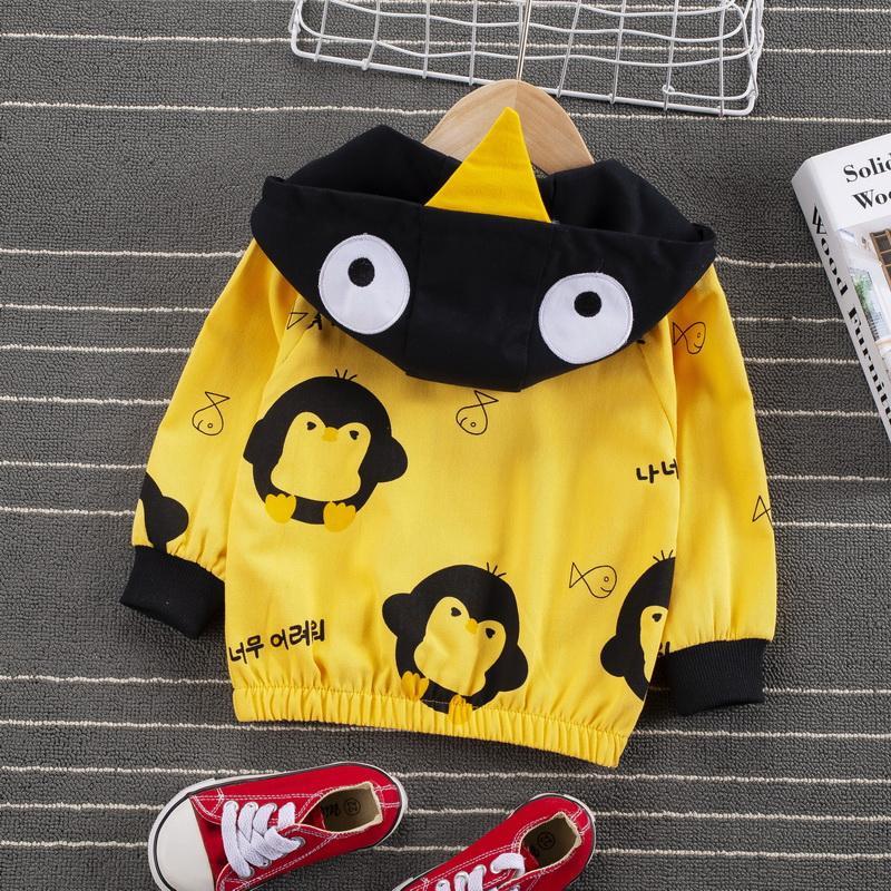 Toddler Boy Penguin Pattern Jacket