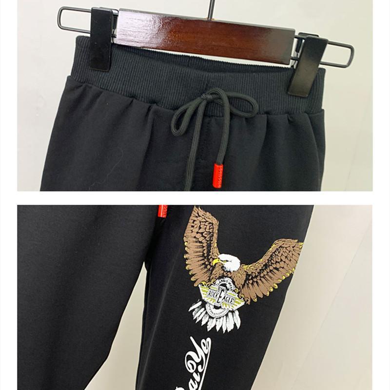 2-piece Eagle Sweatshirt & Pants for Toddler Boy