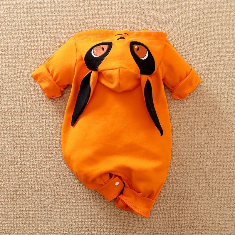 Fox Pattern Jumpsuit for Baby Boy
