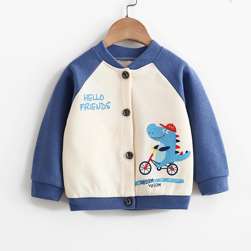 Cartoon Pattern Coat for Toddler Girl