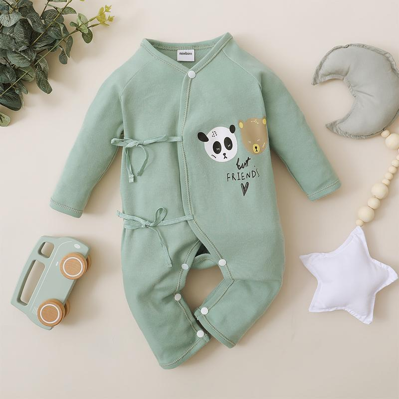 Animal Pattern Jumpsuit for Baby