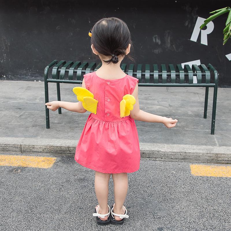 Little Angel Dress for Toddler Girl