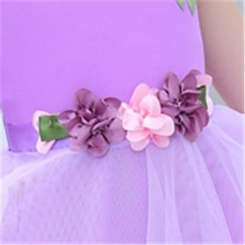Floral Mesh Dress for Girl
