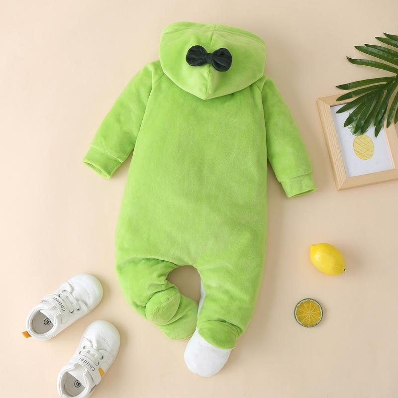 Avocado Pattern Flannel Jumpsuit for Baby
