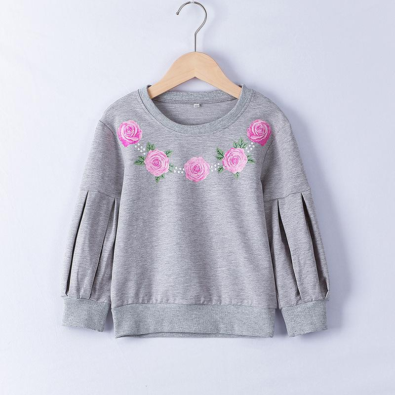 Floral Sweatshirt for Toddler Girl