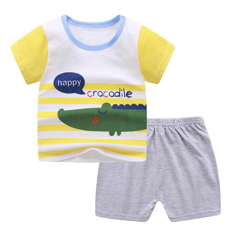 2-piece Pajamas Sets for Toddler Boy