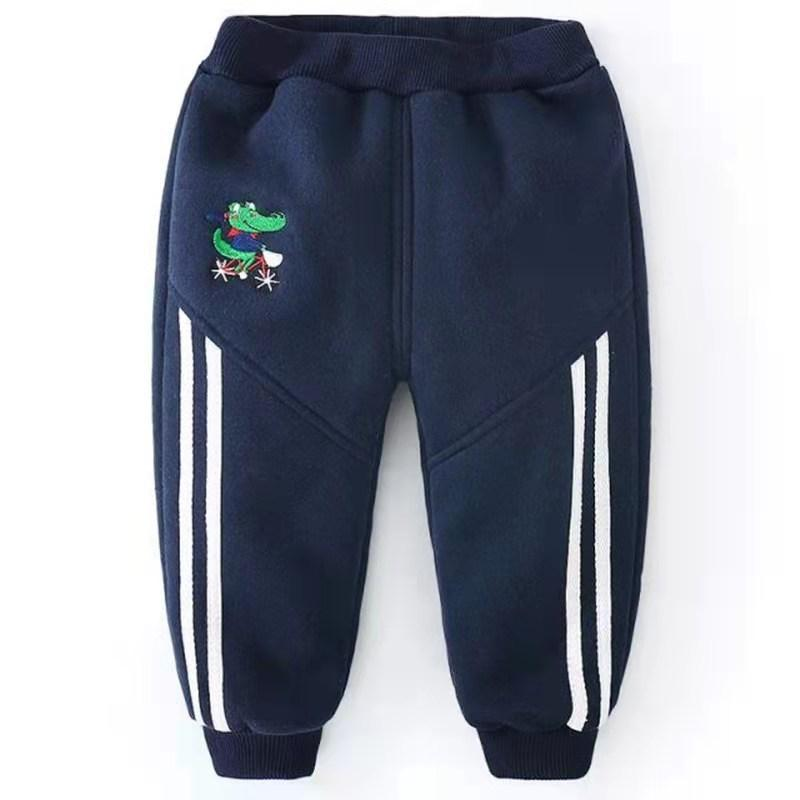 Dinosaur Pattern Sports Pants for Toddler Boy