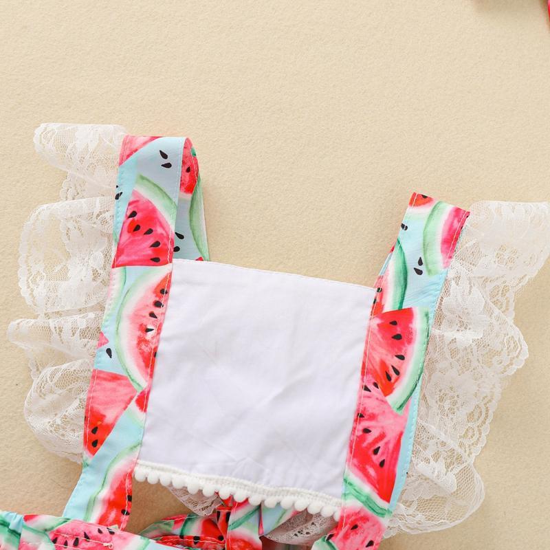 2-piece Floral Bodysuit & Headband for Baby Girl