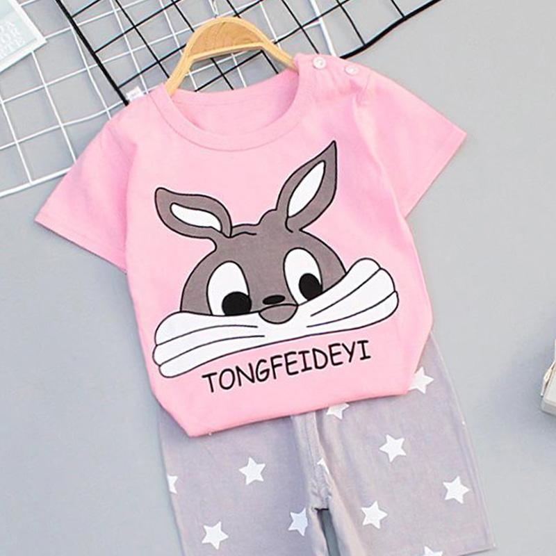 2-piece Thin Pajamas Sets for Toddler Girl