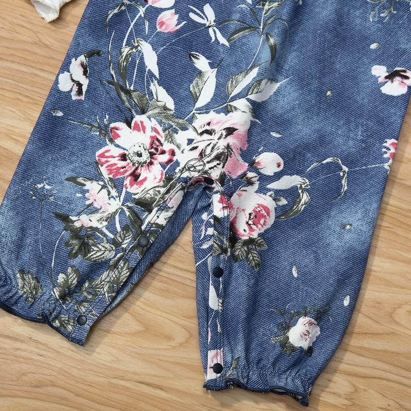 Floral Jumpsuit for Baby Girl