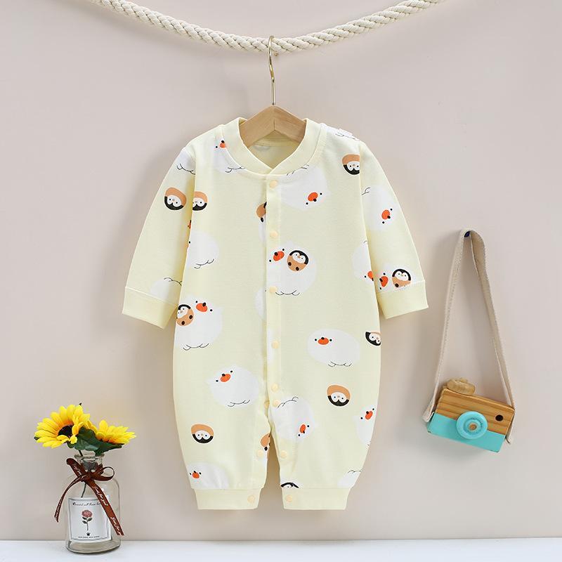 Penguin Pattern Jumpsuit for Baby