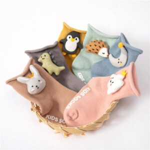 Cotton Animal Socks for Children