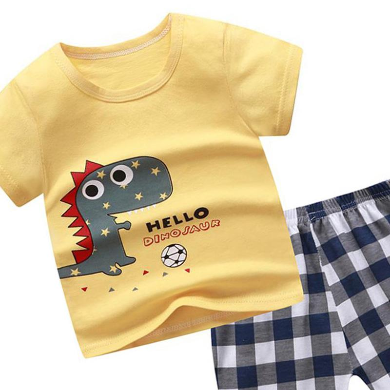 2-piece T-shirt & Shorts for Toddler Boy