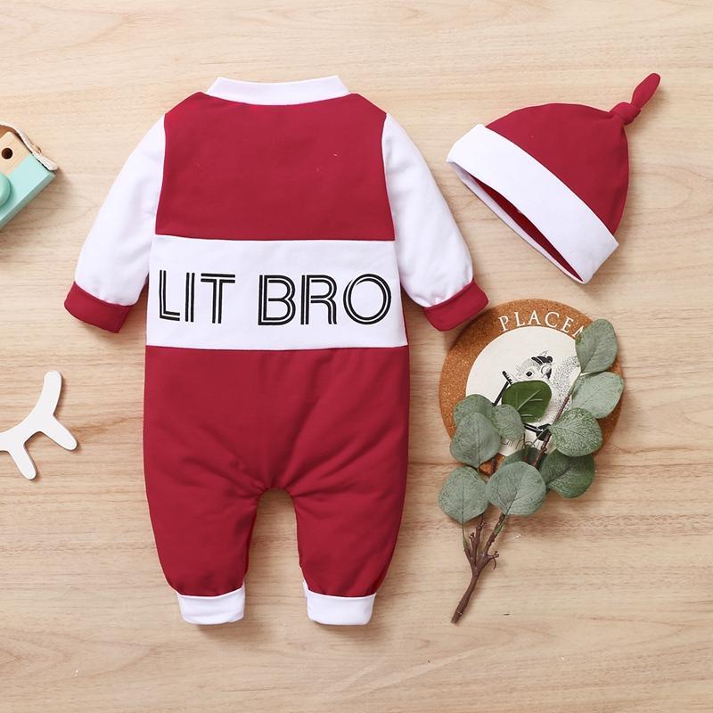 2-piece Romper & Hat for Baby Boy