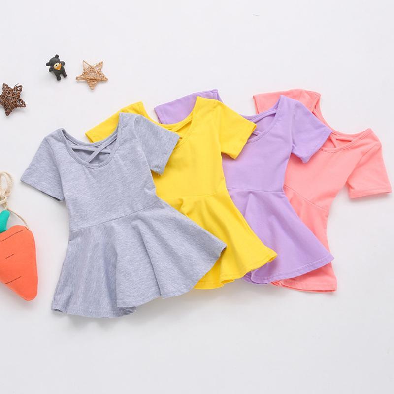 Short Sleeve Dress for Toddler Girl