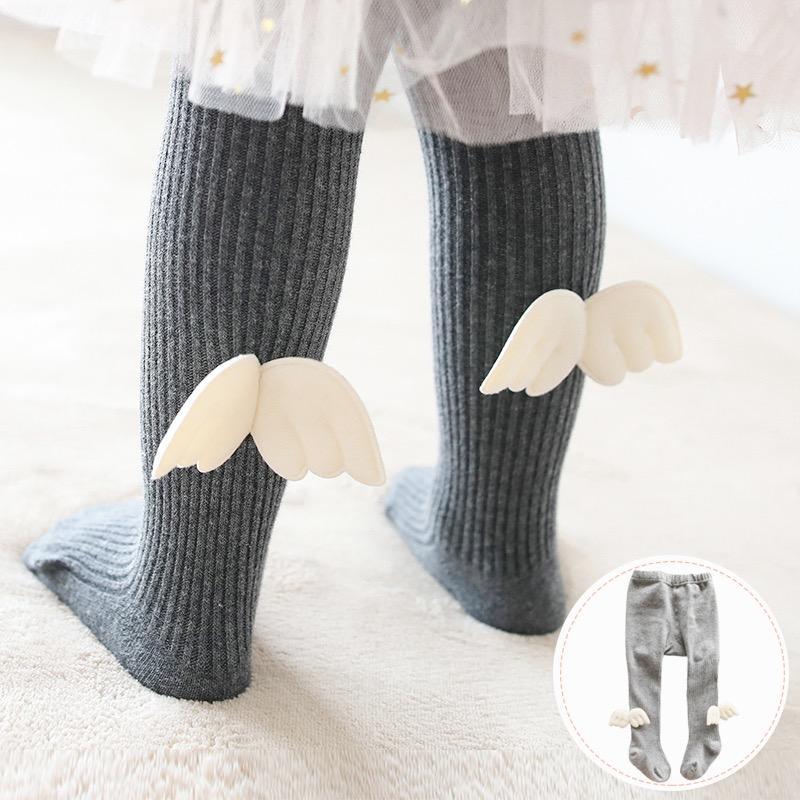 Wing Footless Leggings Tights