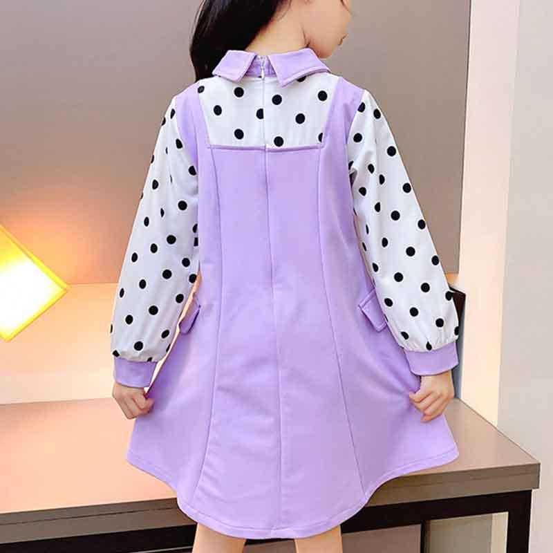 Sweet Dot Dress for Girls