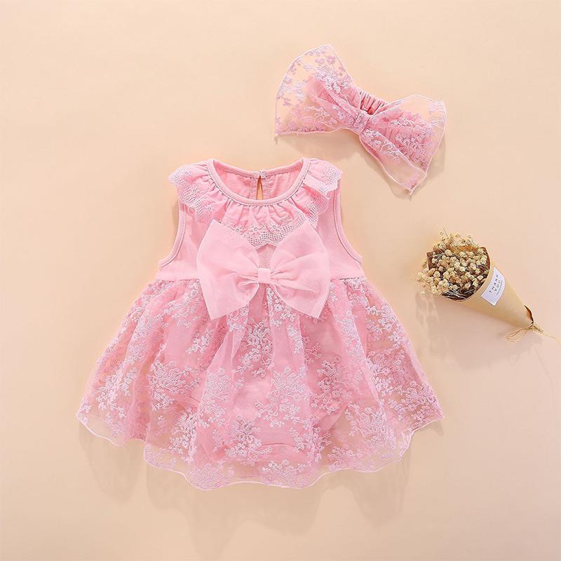 2-piece Dress & Headband for Baby Girl