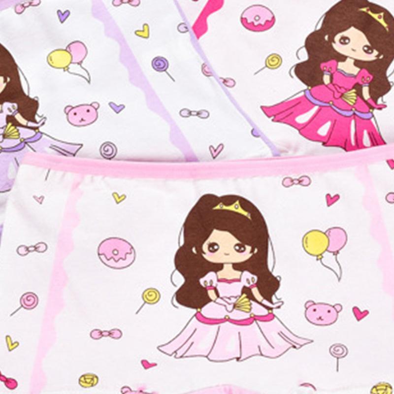 4-piece Panties for Toddler Girl