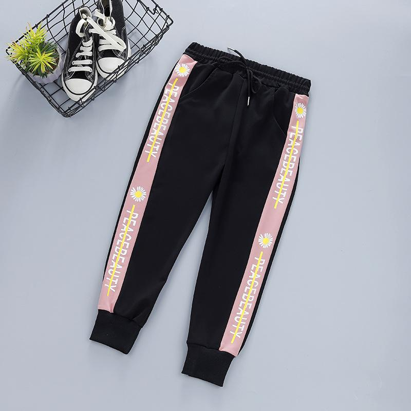 Letter Sports Pants for Girl