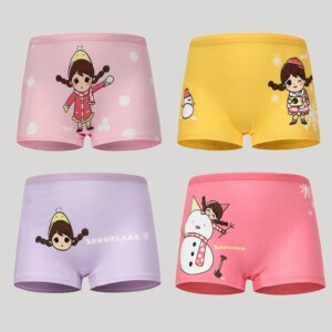 4-piece Panties for Toddler Girl