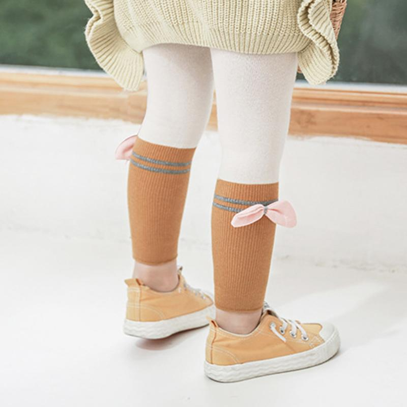 Bowknot Ninth Boot Pants for Toddler Girl