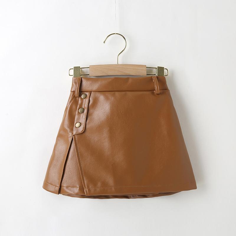 PU Skirt for Toddler Girl