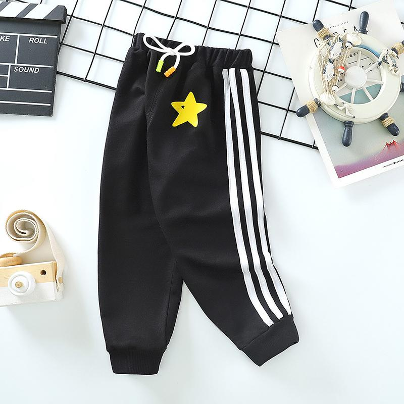 Striped Sports Pants for Toddler Boy