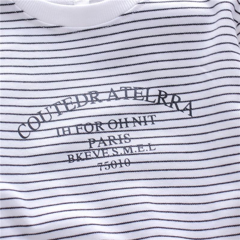 Striped Sweatshirts for Toddler Boy