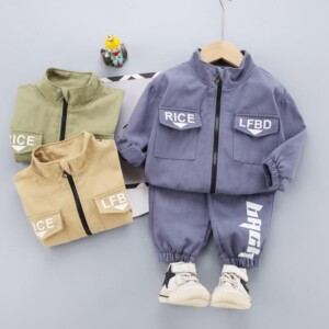 2-piece Coat & Pants for Toddler Boy