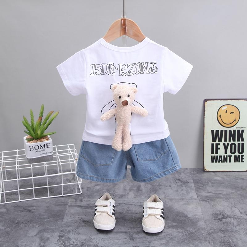 2-piece T-shirt & Shorts for Toddler Girl