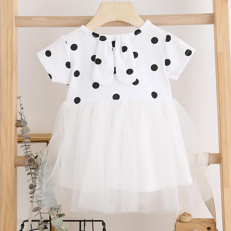 Polka Dot Dress for Toddler Girl