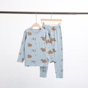 2-piece Cartoon Pattern Pajamas Sets for Boy