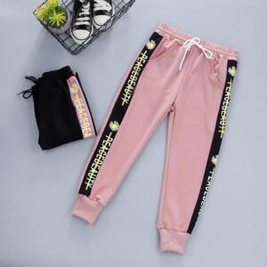 Letter Sports Pants for Girl