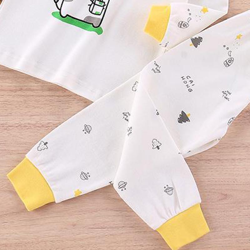 2-piece Cartoon Pajamas Sets for Toddler Boy