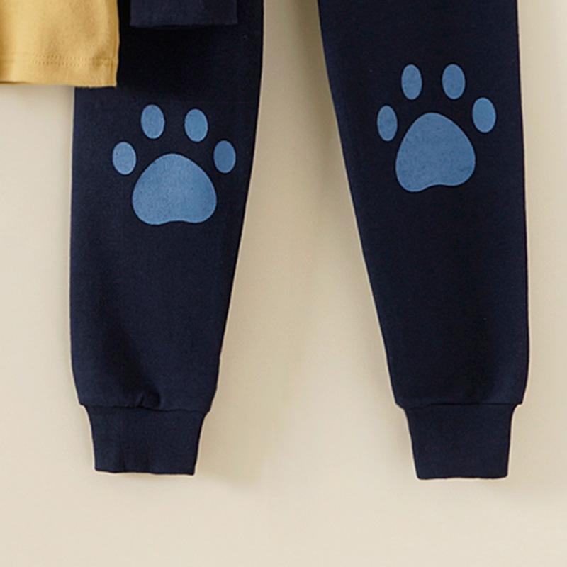 2-piece Bear Pattern Pajamas Sets for Toddler Boy