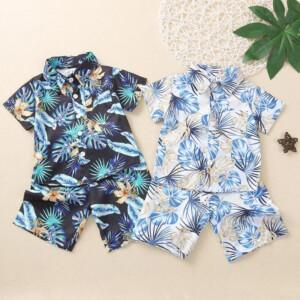 2-piece Sleeveless T-shirt & Shorts for Toddler Boy