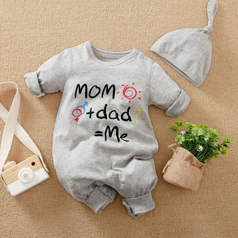 2-piece Jumpsuit & Hat for Baby Boy