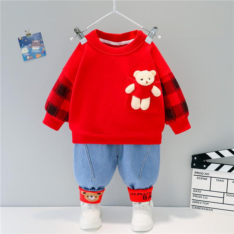 2-piece Sweatshirt & Pants for Toddler Girl