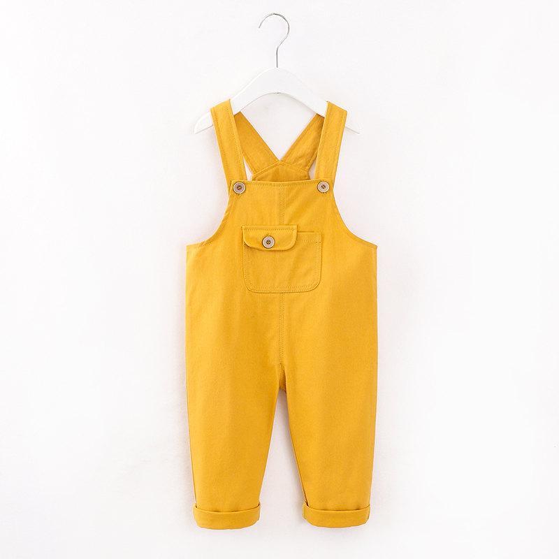 Bib Pants for Toddler Girl