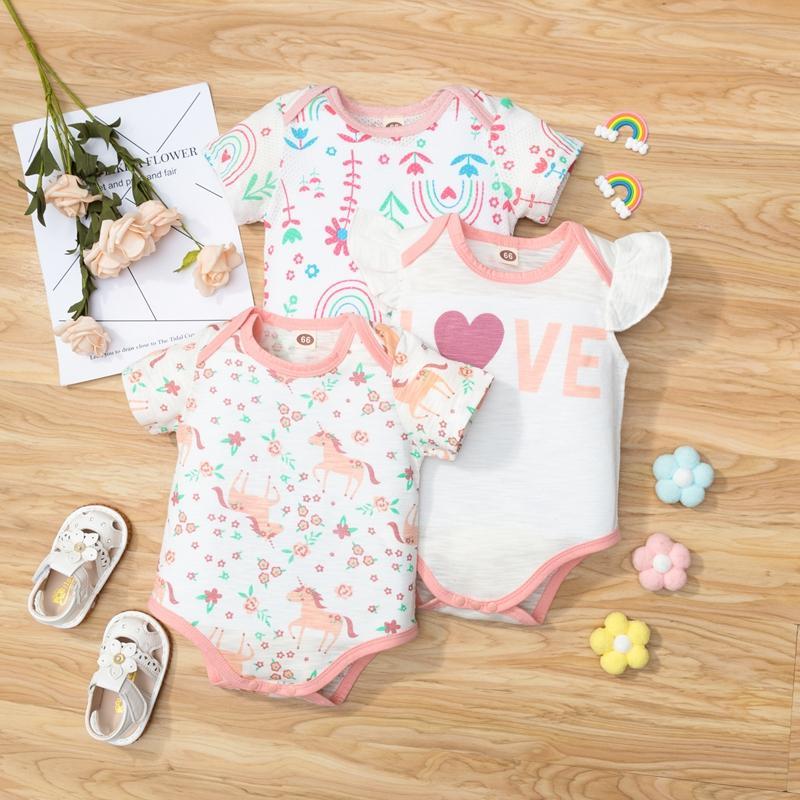 3-piece Bodysuit for Baby Girl