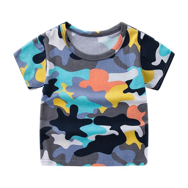 Cartoon Pattern T-shirt for Boy