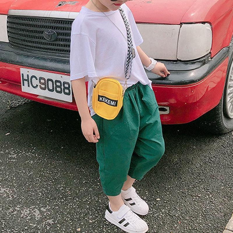 2-piece Dinosaur Print T-shirt & Capri Pants for Boy