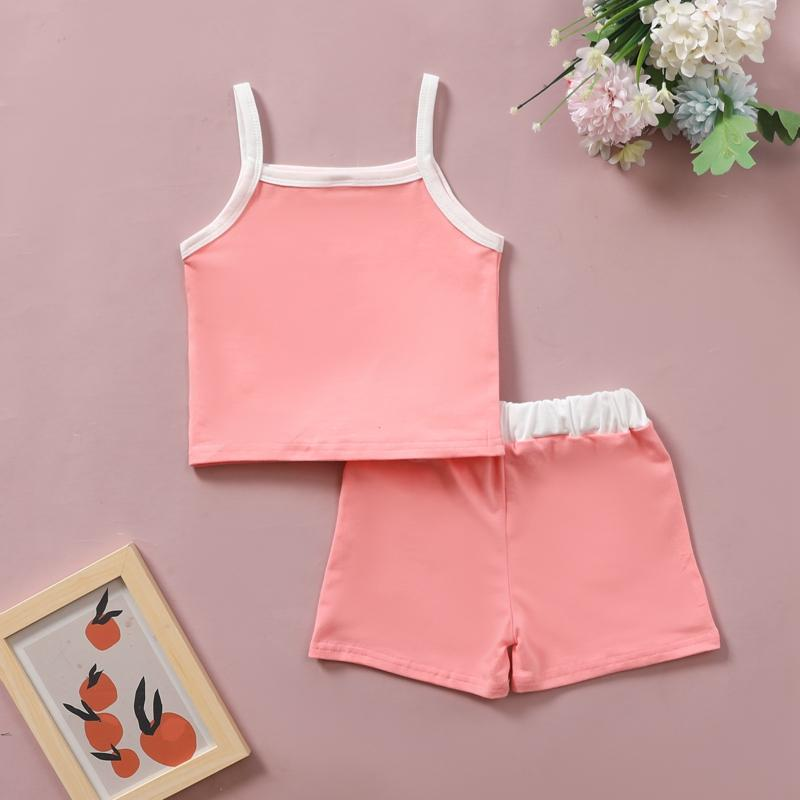2-piece Top & Shorts for Toddler Girl