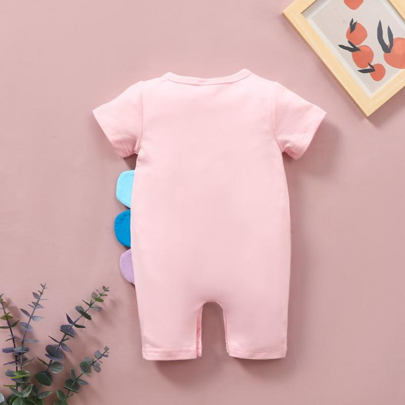 Unicorn Pattern Jumpsuit for Baby
