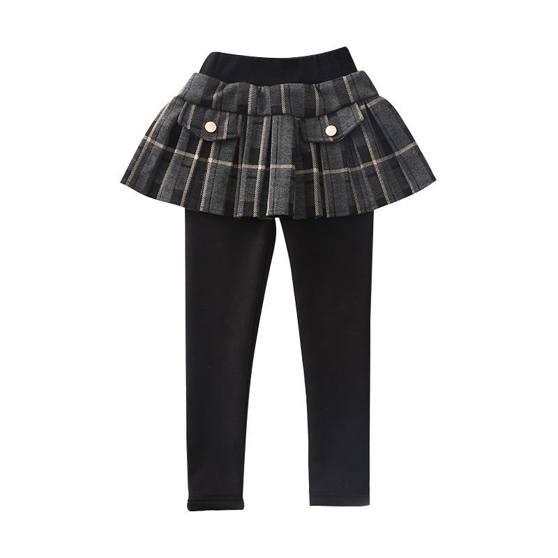 Plaid Boot Pants for Girl